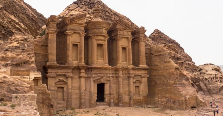 An easy walk from Little Petra to the Monastery (Al-Deir) in Petra