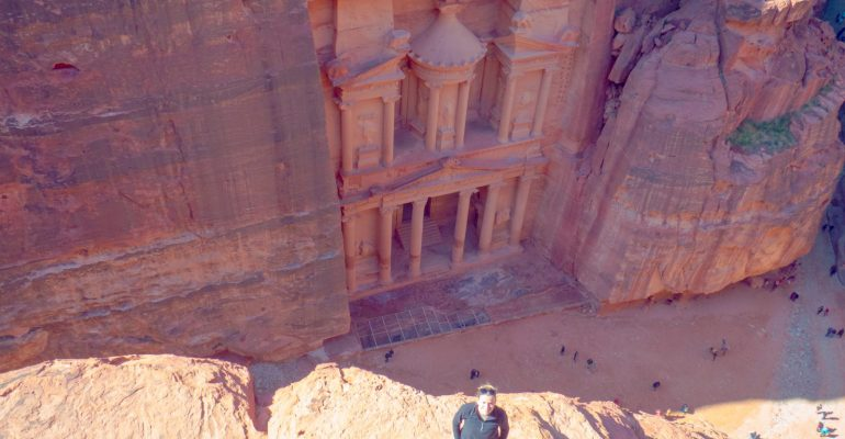 Petra: High Place of Sacrifice loop with another Treasury view plus more