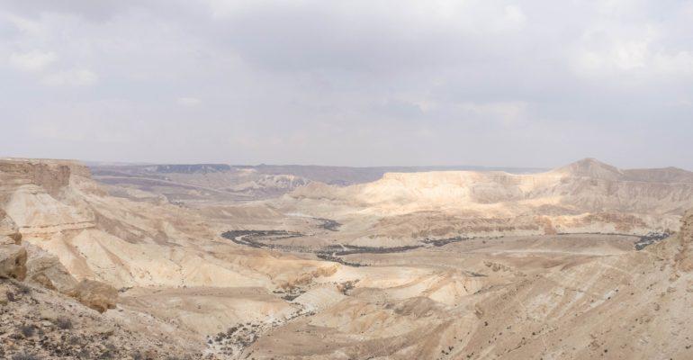 Negev Desert hikes: Avdat NP to Ein Akev Spring to Sde Boker Kibbutz