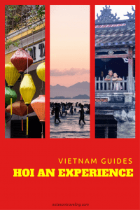 A guide to Hoi An that is less a list to be ticked off in a day or two, and more an invitation to linger and enjoy the Hoi An lifestyle. #hoian #vietnam #slowtravel