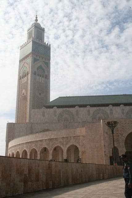 Mosque tower, Casablanca, Morocco (2011-10)