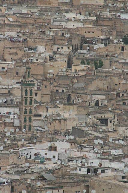 View of the medina, Fes, Morocco (2011-10)