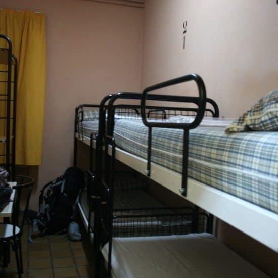 Youth hostel in Madrid, ES (2011-10)