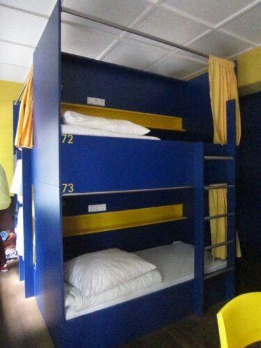 Dorm bed Bednbudget Hannover, Hanover, Germany (2013-07)