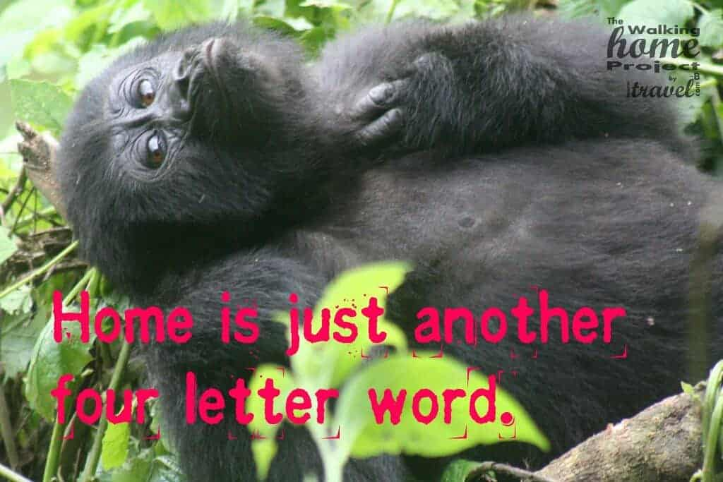Quotes: Home is just another four letter word