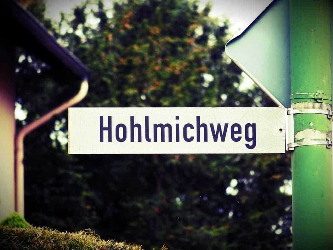 Hohlmichweg writing, Germany (2014-05(