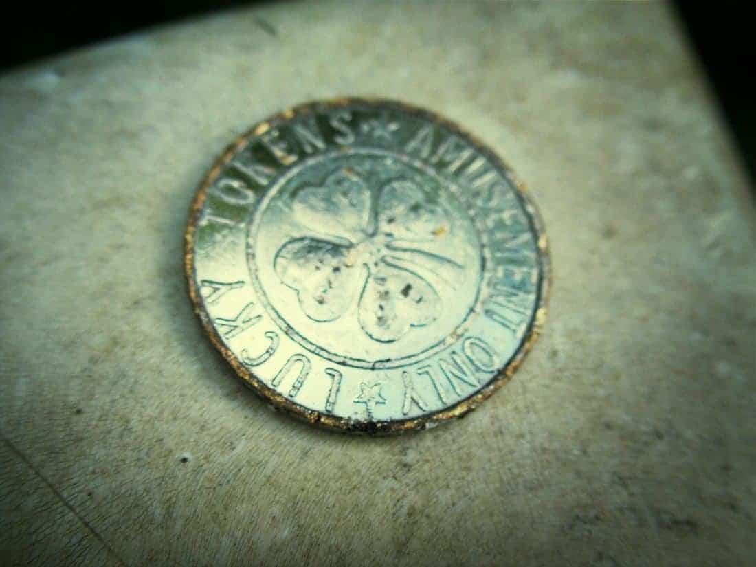 Lucky coin, France (2014-08)