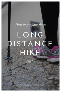 All you need to know about preparing a long distance hike from a woman who walked more than 3,000 km across Europe: training, shoes, clothes, packing,...