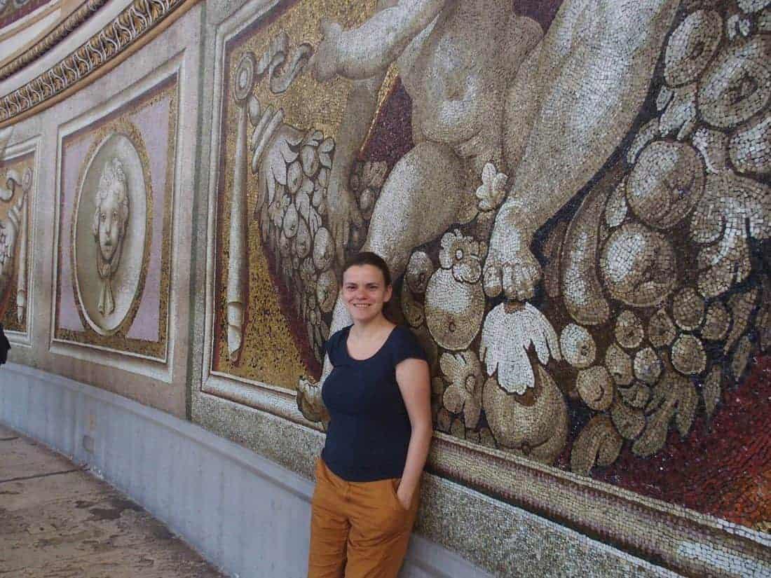 Carola at Saint Peter's Basilica in Vatican City, Rome, Italy (2015-03)