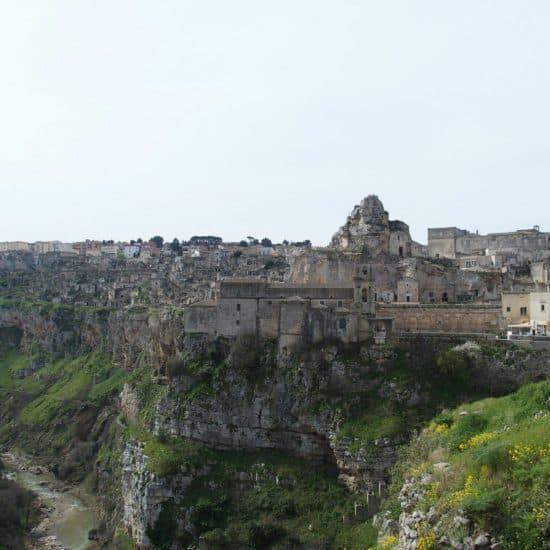 View of Matera town, Italy (2015-03)