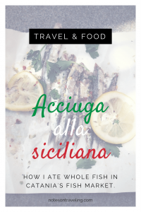 My favorite travel activity is wandering through the local markets and randomly picking out strange food. Why should Catania Fish Market on the Italian island of Sicily be any different?