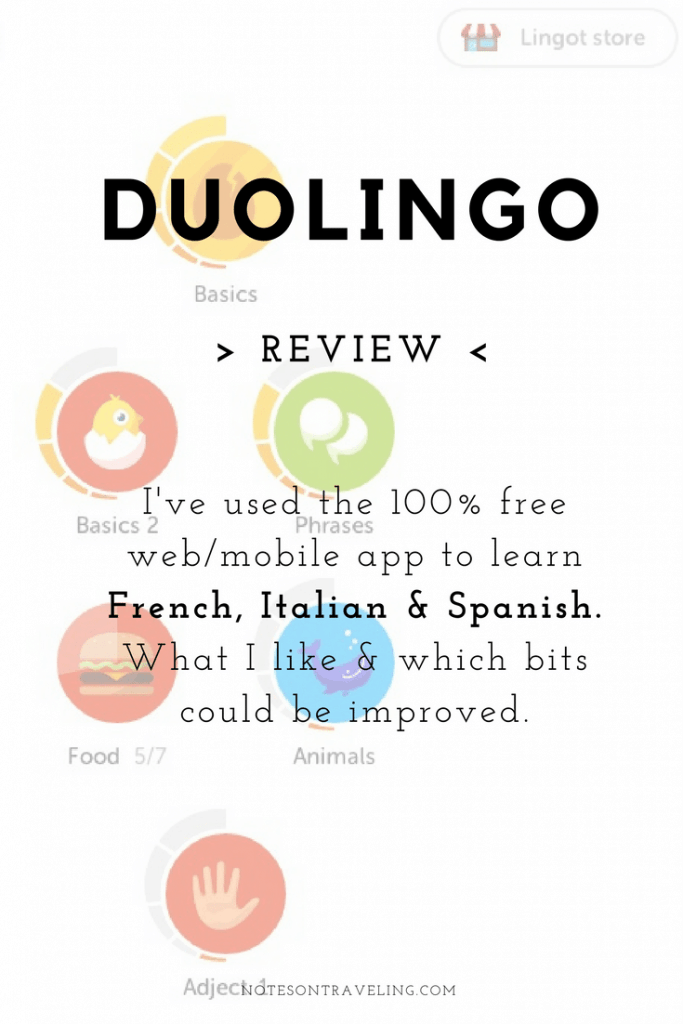 Languages are great tool for every traveler. Find out why I love Duolingo, a 100% free app and browser language learning tool that has helped me learn three languages (and counting) from scratch.