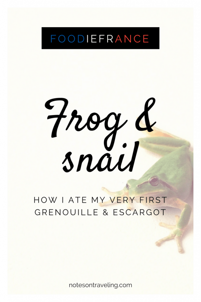 So you're going to France but you're not sure about whether to eat frog and snail? Let me share my experience in trying these two delicacies with you...