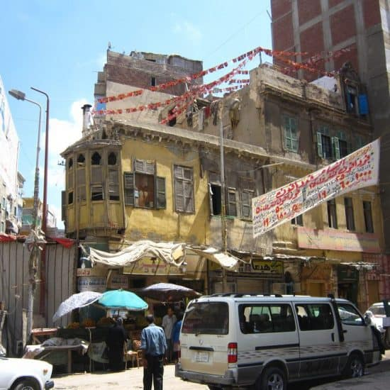Old house in Alexandria, Egypt (2012-08)