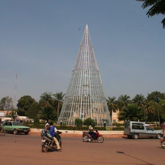 Roundabout in Ouagadougou, Burkina Faso (2011-12)