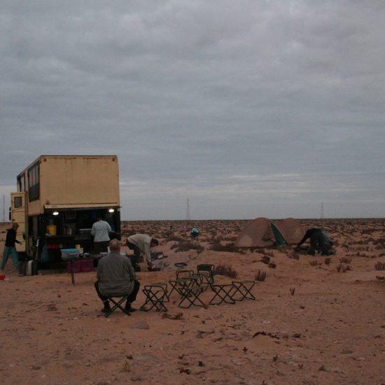 African Trails bush camp, Western Sahara, Morocco (2011-11)