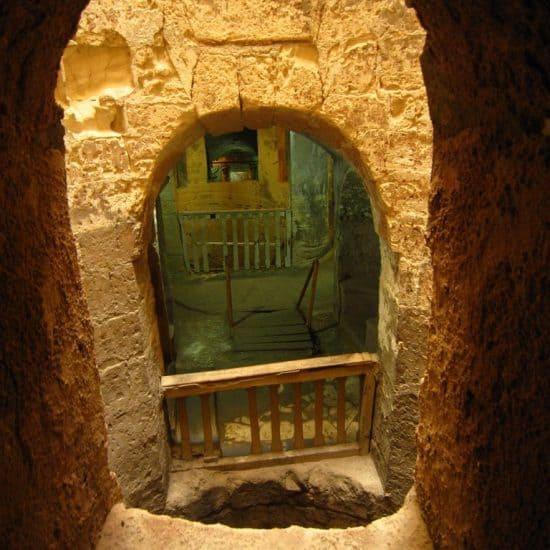 Catacombs in Alexandria, Egypt (2012-08)