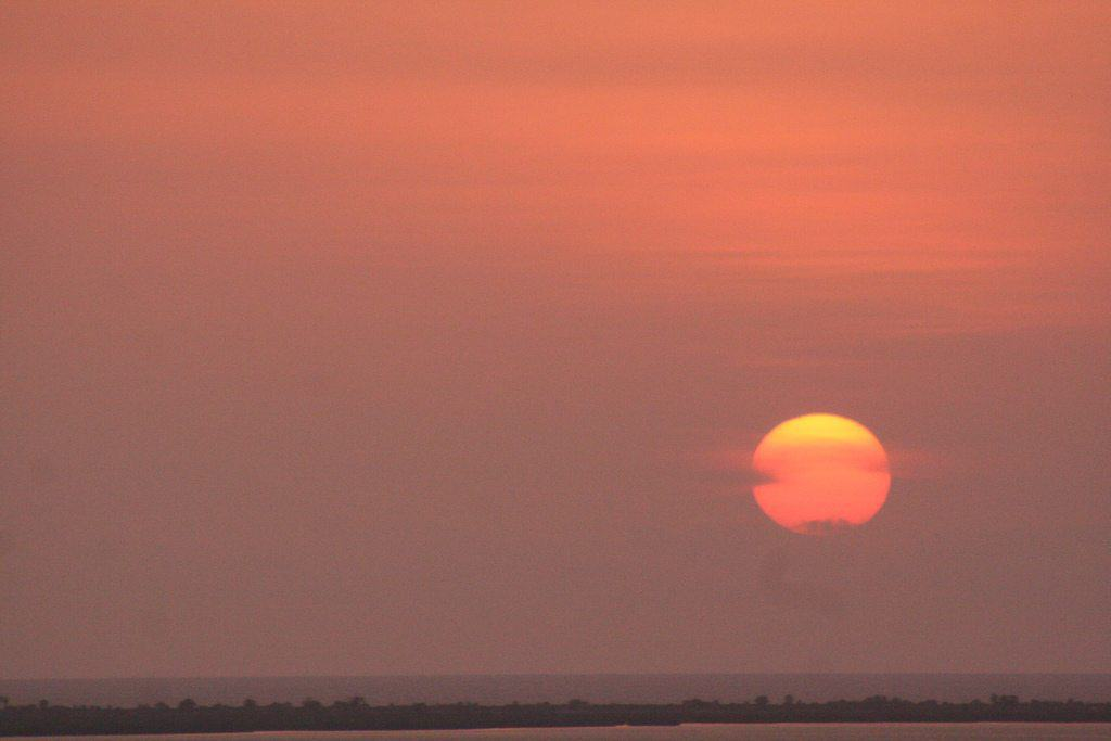 Sunset in Angola (2012-02)