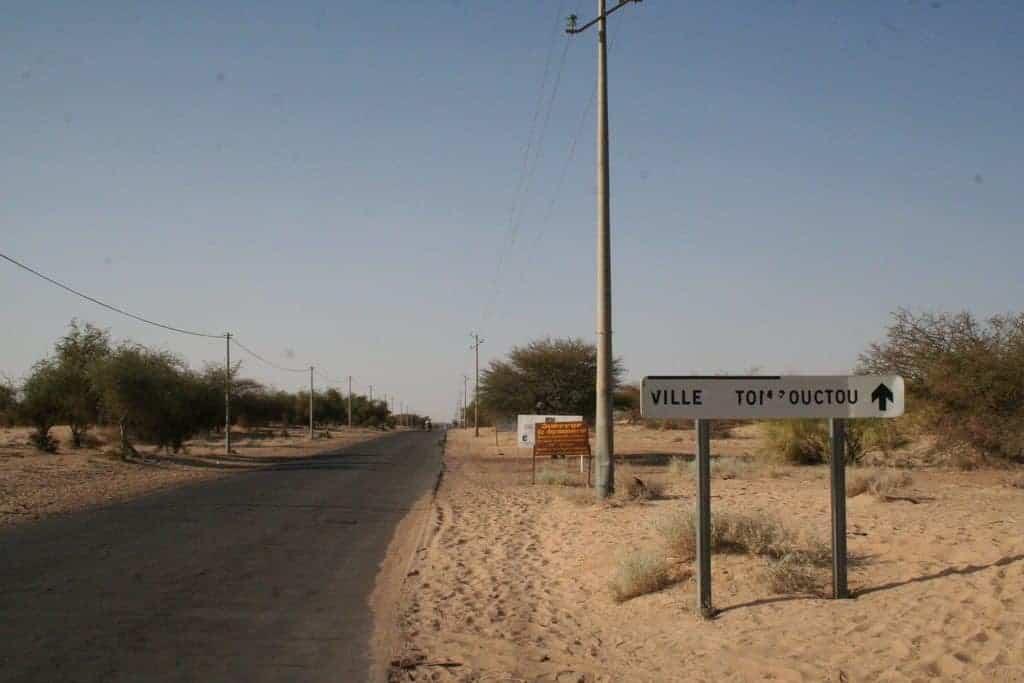 Arriving in Timbuktu, Mali (2011-11-24)
