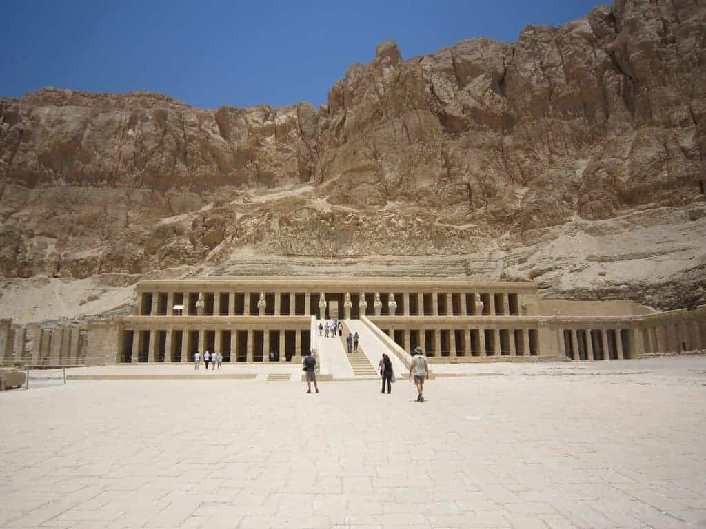 Temple on the Westbank, Luxor, Egypt (2012-07)