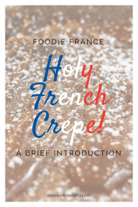The French crepe is a food that most people can agree on because it is so versatile. Pancake's skinny cousin can be filled with sweet or savory things...