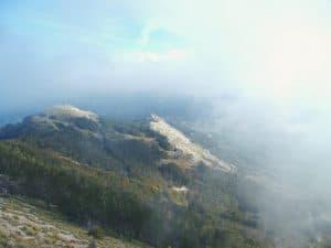 Lovcen National Park mountain view Negus Monument, Montenegro (2016-10-01)