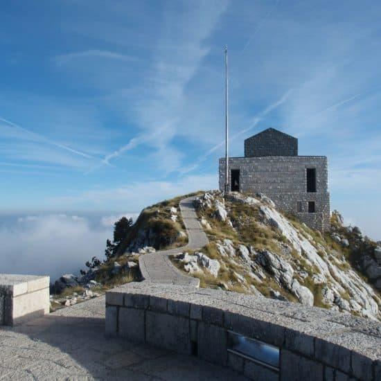 Lovcen National Park Negus Monument, Montenegro (2016-10-01)