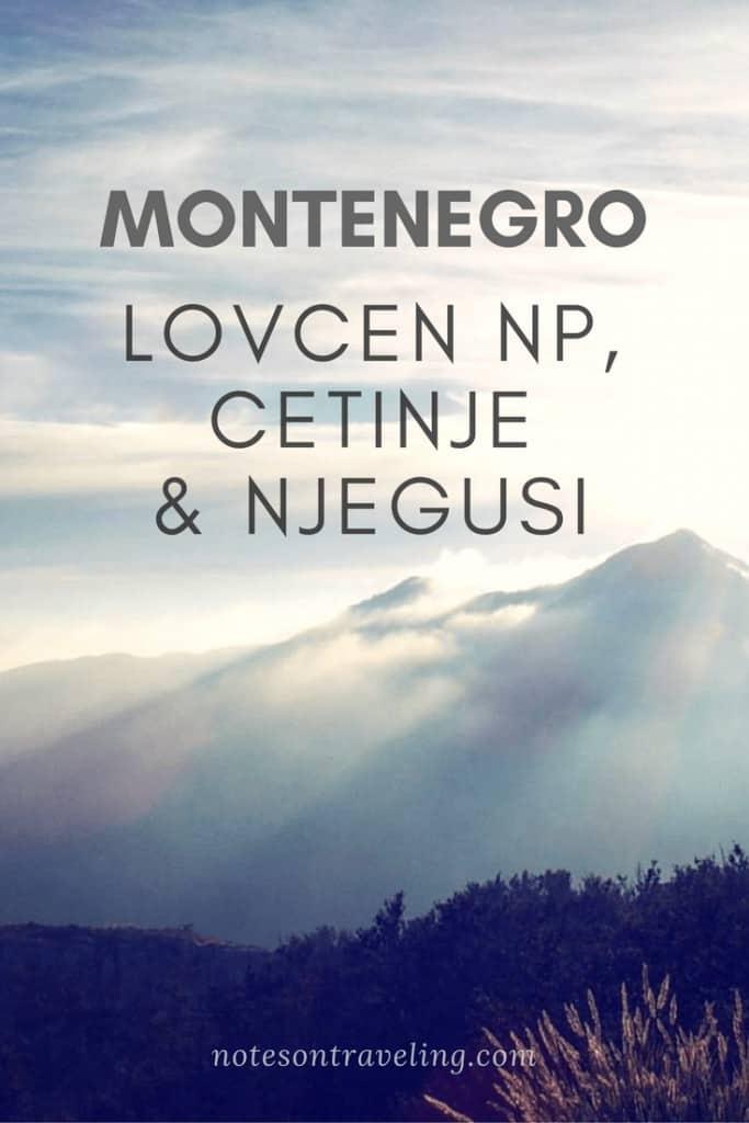 Montenegro Explorer - Lovcen National Park, Cetinje and Njegusi