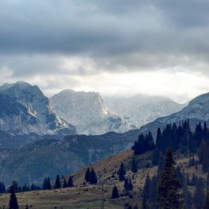 Momcilov Grad view in Durmitor National Park, Montenegro (2016-09-24)