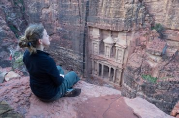 Seeing Petra's Treasury without tourists