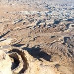 Looking down at the North Palace at Masada National Park, Israel (2017-01-03)