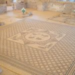 Mosaic at the Ancient Synagogue, Ein Gedi Nature Reserve, Israel (2017-01-04)