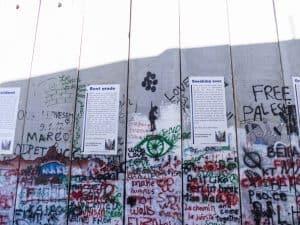 Banksy copy: Girl with Balloons, Bethlehem, Palestine (2017-01-11)
