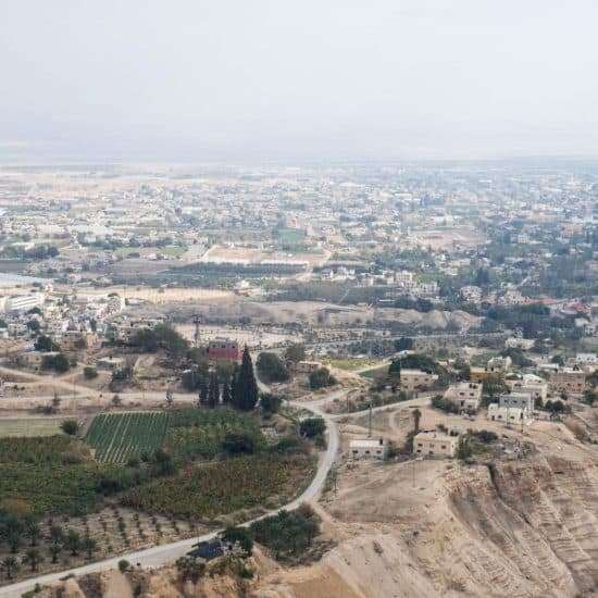 View from St George Monastery, Jericho, Palestine (2017-01-15)
