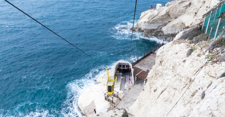 Rosh Hanikra — Grottoes at the end of Israel