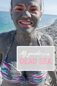 Let me share the local way of bathing/mudding in the Dead Sea with you! Includes practical info on transport, beaches, and accommodation. #israelitinerary #travelguide #backpacking