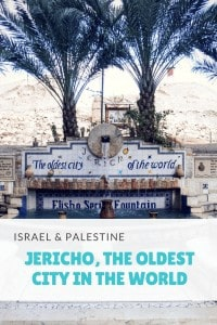 I went to Jericho to explore the oldest city in the World (and to escape the cold rain in Ramallah and Jerusalem...). How to get there, what to see & do.