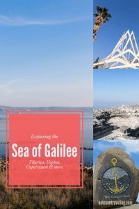 Learn all about visiting the Sea of Galilee and which sites to see for a glimpse of ancient Roman life, Biblical history, and stunning nature.