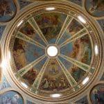 Stella Maris church ceiling, Haifa, Israel (2016-12)