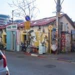 Street art at the head of Florentin Street, Tel-Aviv, Israel (2017-02)