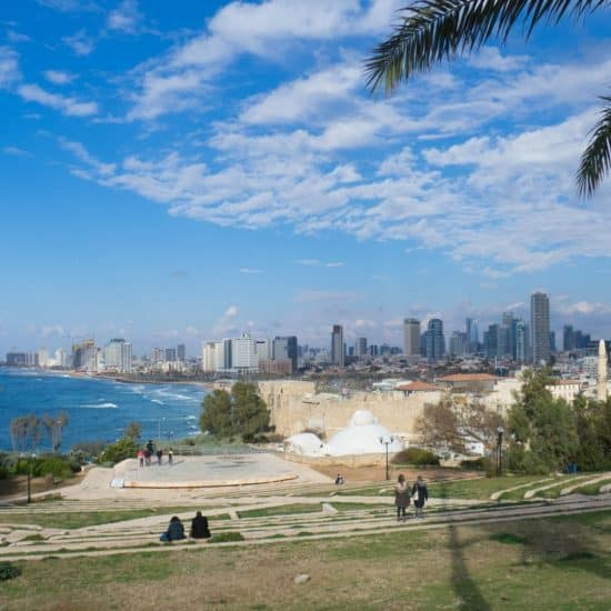Tel-Aviv view from Jaffa, Israel (2017-02)