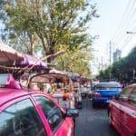 Chatuchak market traffic, Bangkok, Thailand (2017-03)