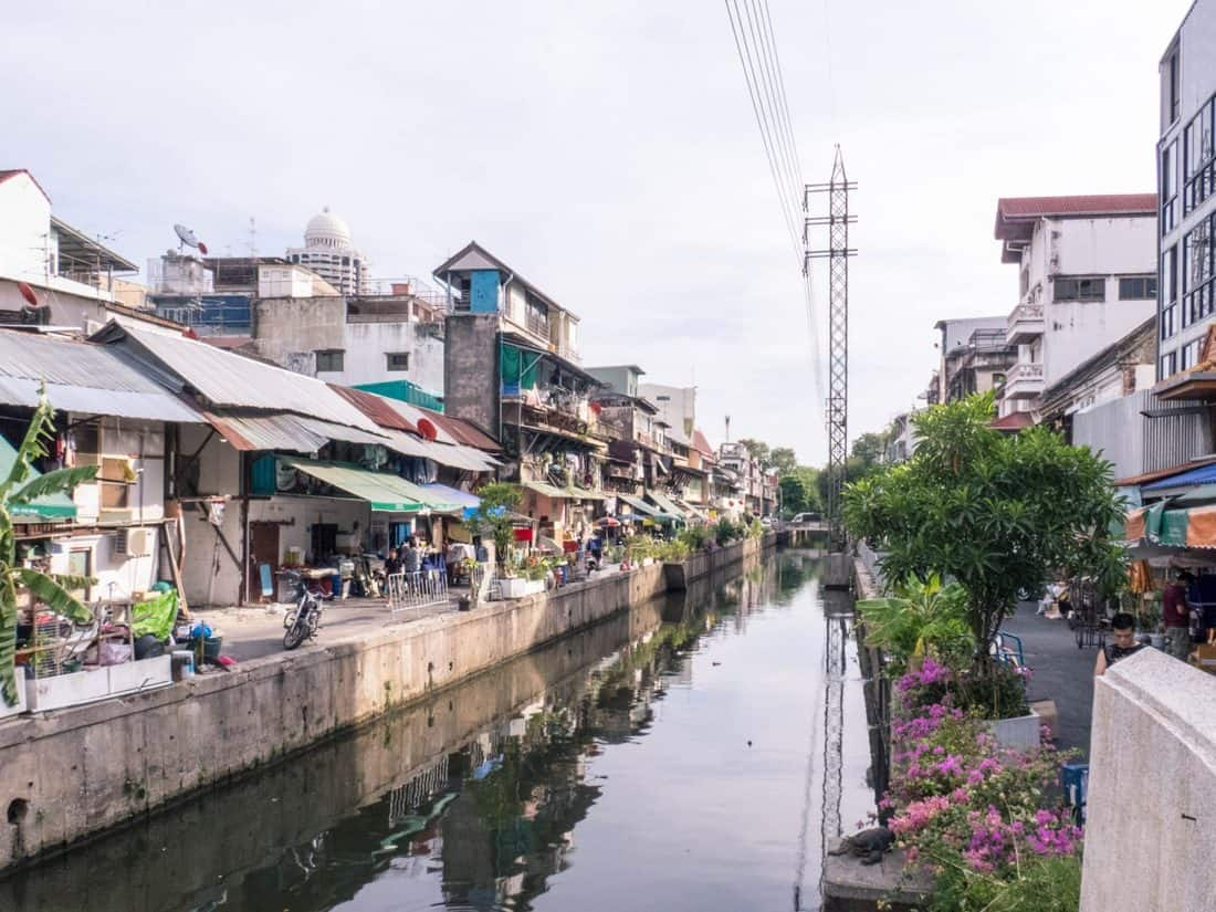 Life along the Bangkok channels, Thailand (2017-03)