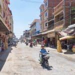Street in Battambang, Cambodia (2017-04-24)