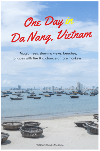 Here's a relaxed 1-day itinerary for Da Nang, the coastal town just north of Hoi An, Vietnam: Son Tra, Monkey Peak, Heritage Tree, Dragon Bridge,... #solotravel #backpacking #adventuretravel