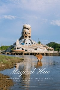 After spending a few weeks in Hue, the last imperial capital of Vietnam, these are my absolute must-dos for a 1- or 2-day itinerary. Plus logistics advice. (Abandoned waterpark) #travelguide #travelitinerary #vietnamtravel