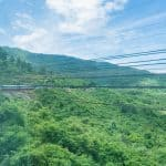 Train ride from Da Nang to Hue, Vietnam (2017-06)