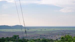 Panorama view from Phnom Sampov, Battambang, Cambodia (2017-04)