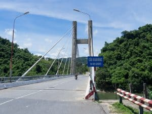 DMZ Tour: Bridge along the former Ho Chi Minh path, Vietnam (2017-06-26)