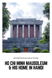One of my first stops in Vietnam's capital, Hanoi, was the Ho Chi Minh Mausoleum and the grounds of the Presidential Palace in Ba Dinh Square. Learn all you need to know to organize your own visit. #destinationguide #travelguide #northvietnam